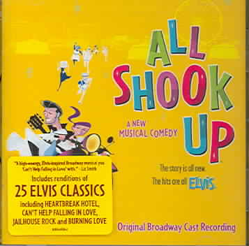 ALL SHOOK UP BY ORIGINAL CAST (CD)