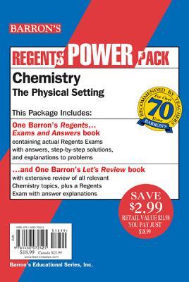 Chemistry - The Physical Setting Power Pack By Tarendash, Albert S.
